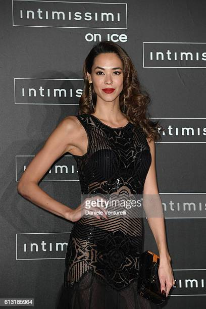 Emi Renata attends Intimissimi On Ice at Arena on October 7 2016 in Verona Italy