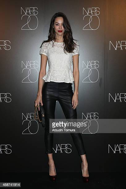 Emi Renata attends NARS Photo Exhibition And 20th Anniversary Party at ANdAZ Hotel on November 7 2014 in Tokyo Japan