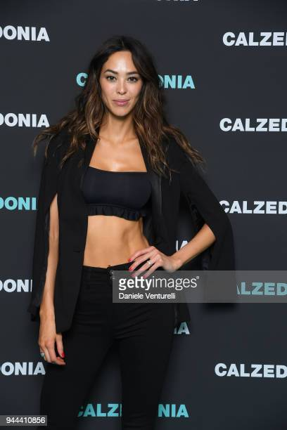 Emi Renata attends the Calzedonia Summer Show on April 10 2018 in Verona Italy