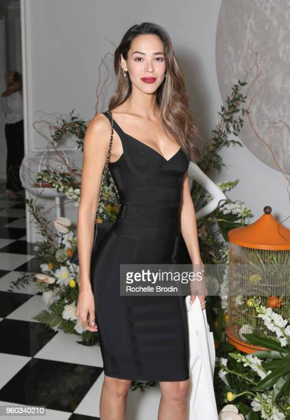 Emi Renata attends The Foundation for Living Beauty Dinner Under the Stars on May 19 2018 in Beverly Hills California