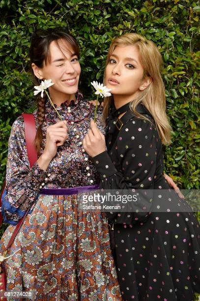 Emi Renata Sakamoto and Rola attend Marc Jacobs Fragrances and Kaia Gerber Celebrate DAISY on May 9 2017 in Beverly Hills California