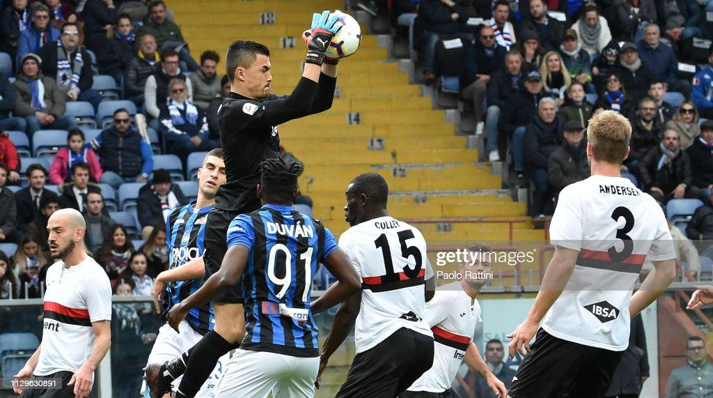 UC Sampdoria v Atalanta BC - Serie A : News Photo