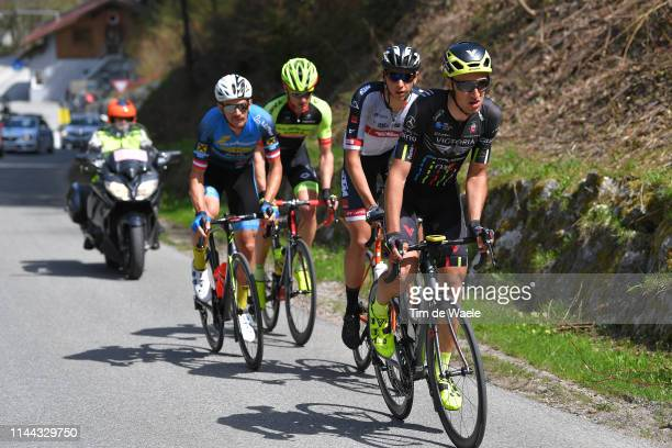 Emil Dima of Romania and Team Giotti Victoria / Matthias Krizek of Austria and Team Felbermayr Simplon Wels / Patrick Gamper of Austria and Tirol KTM...