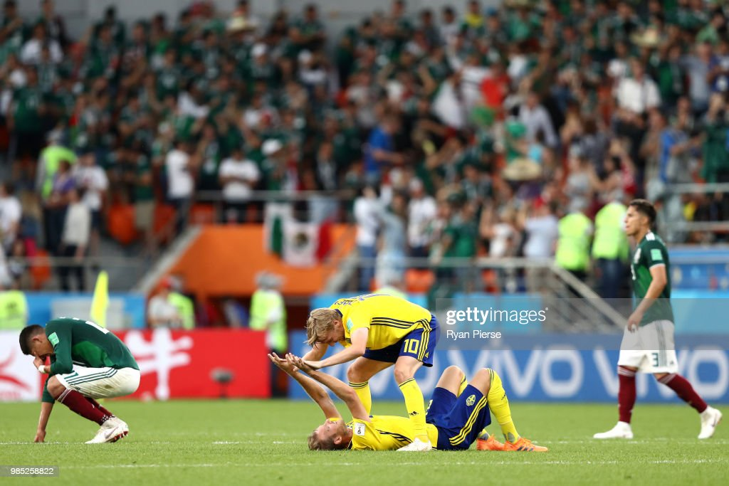 Mexico v Sweden: Group F - 2018 FIFA World Cup Russia : News Photo