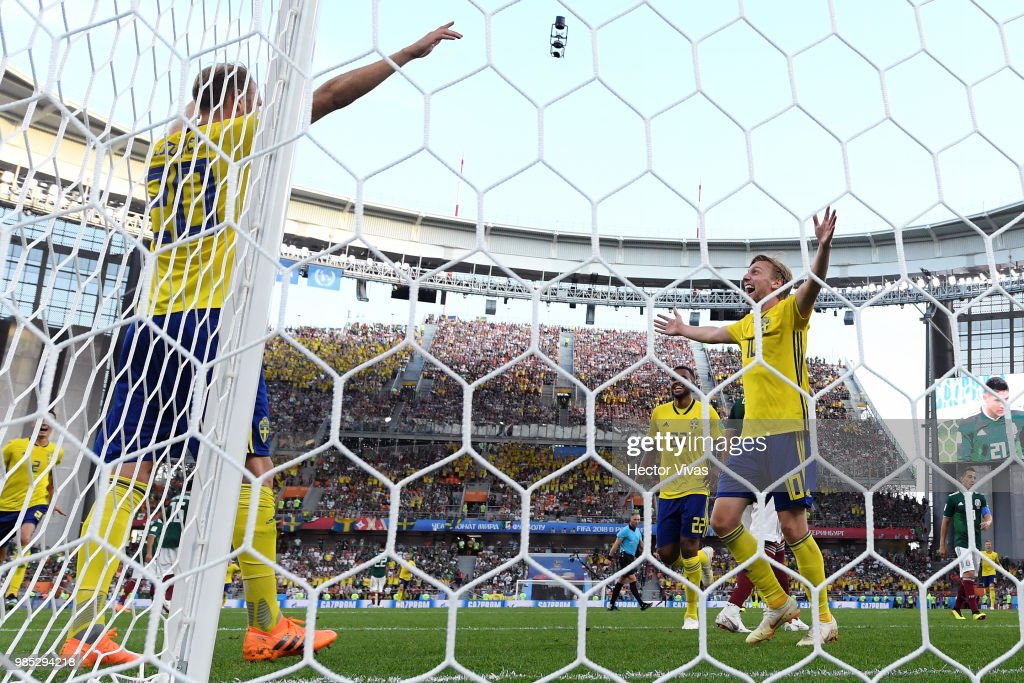 The Best Photos From Sweden vs. Mexico
