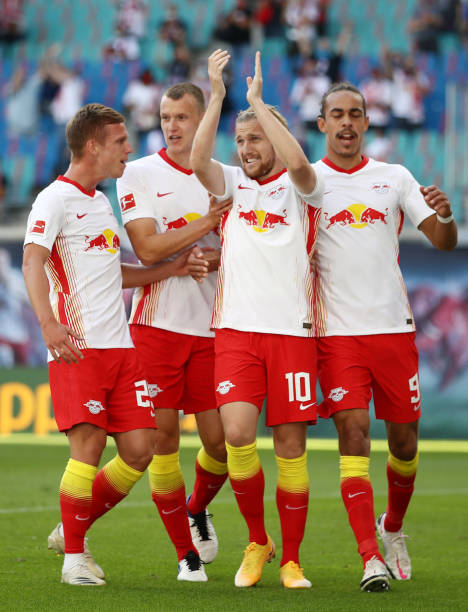 DEU: RB Leipzig v 1. FSV Mainz 05 - Bundesliga