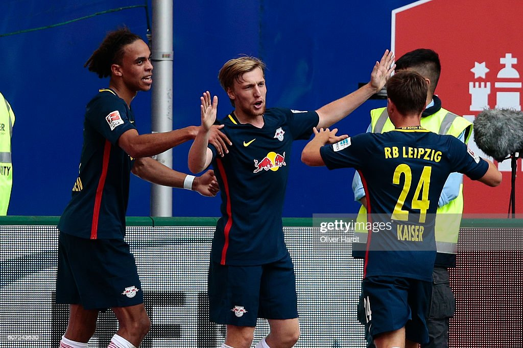 Hamburger SV v RB Leipzig - Bundesliga : News Photo
