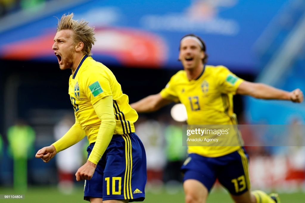 Sweden v Switzerland : Round of 16 - 2018 FIFA World Cup Russia : News Photo