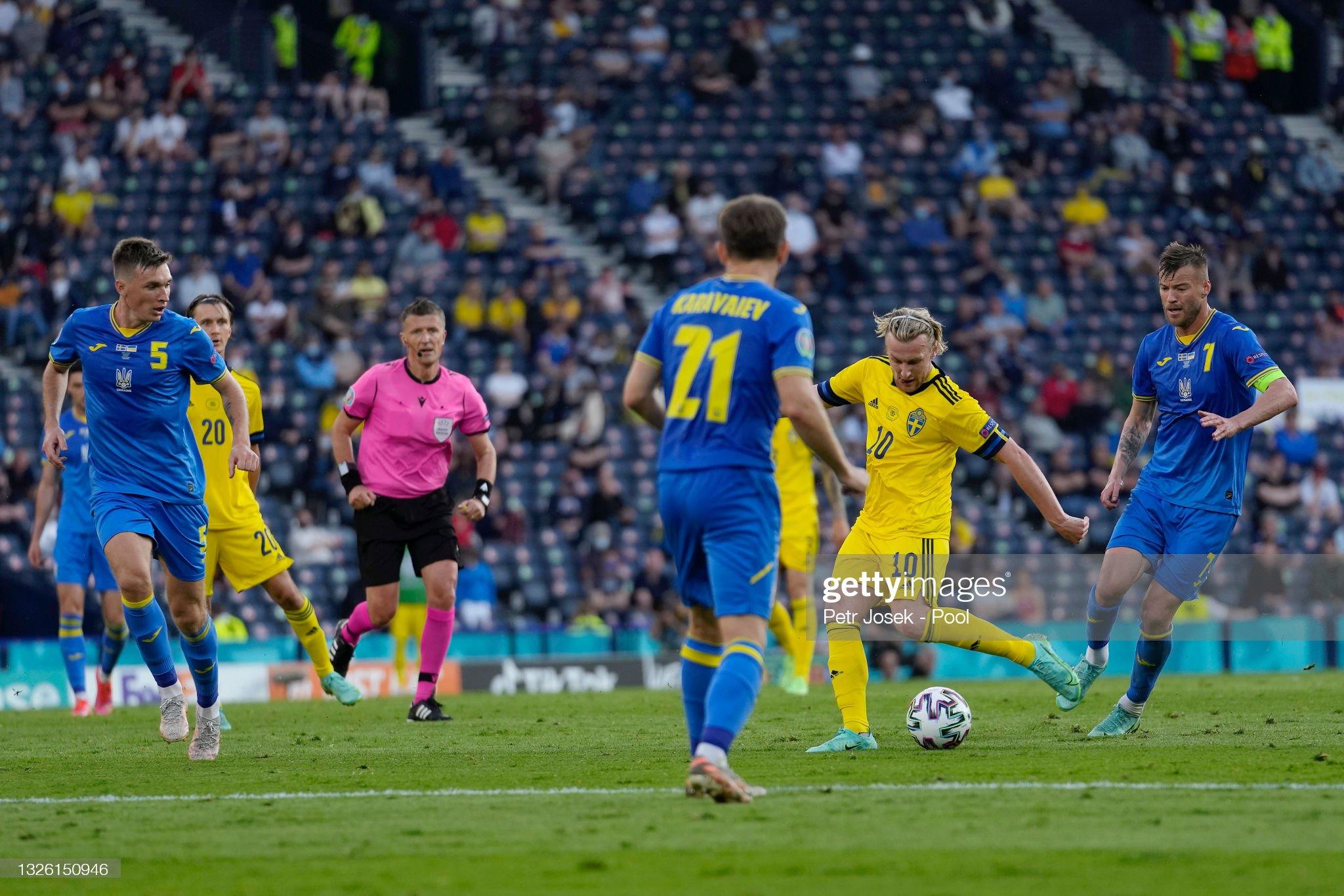 Sweden v Ukraine - UEFA Euro 2020: Round of 16 : News Photo