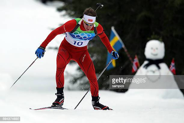 Emil Helge Svendsen NOR Silber Biathlon 10 KM Sprint Männner Olympische Winterspiele in Vancouver 2010 Kanada olympic winter games Vancouver 2010...