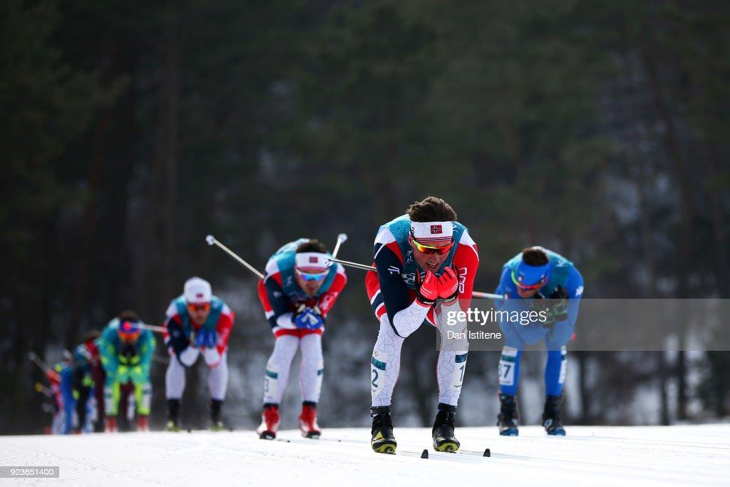 Cross-Country Skiing - Winter Olympics Day 15 : News Photo