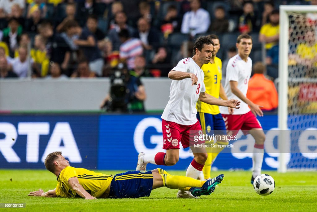 Sweden v Denmark - International Friendly : News Photo