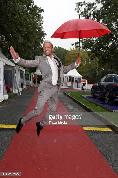 Emil Kusmirek attends the Audi Ascot Race Day at Neue Bult horse racing track on August 18 2019 in Langenhagen Germany