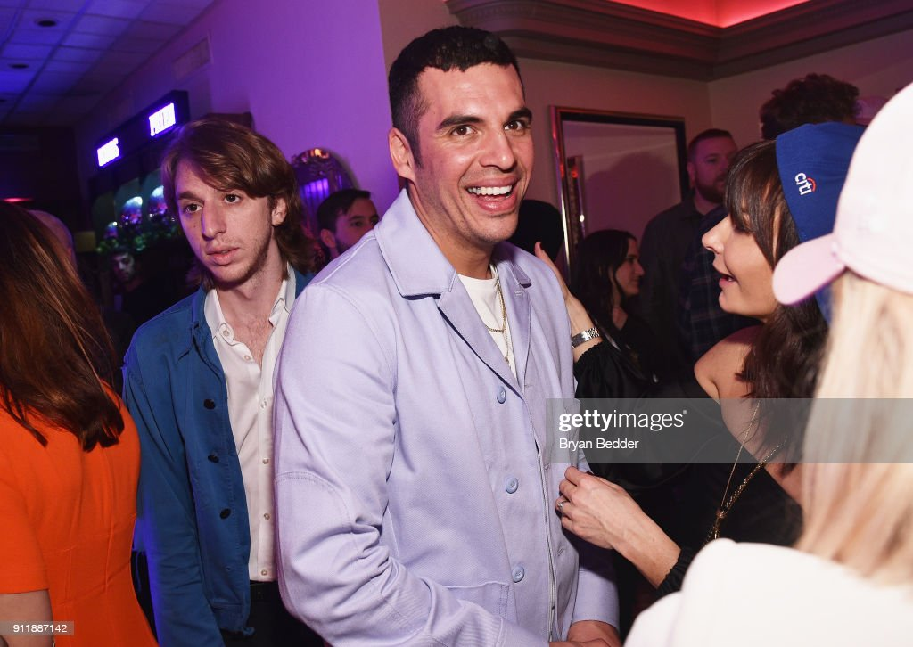 Emil Nava attends the 60th Annual Grammy Awards after party hosted by Benny Blanco and Diplo with SVEDKA Vodka and Interscope Records on January 29, 2018 in New York City.