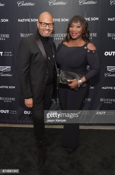 Emil Wilbekin and Bevy Smith attend OUT Magazine 'Master of Style' presented by Cadillac honoring Emil Wilbekin #masterofstyle on November 15 2017 at...