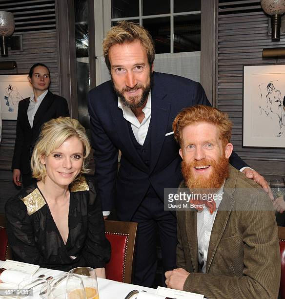 Emilai Fox Ben Fogle and Sean Conway attends a drinks reception hosted by Ben Fogle and Bernie Shrosbree to celebrate Johnnie Walker Blue Label...