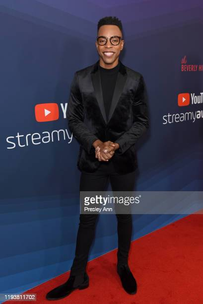 Emile Ennis Jr attends The 9th Annual Streamy Awards on December 13 2019 in Los Angeles California