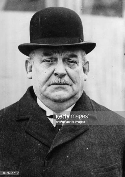 Emile Francqui was a Belgian soldier diplomat and business man Photograph About 1930 Emile Francqui war ein belgischer Soldat Diplomat und...