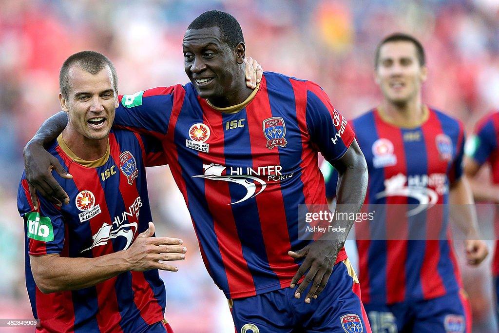 A-League Rd 26 - Newcastle v Melbourne