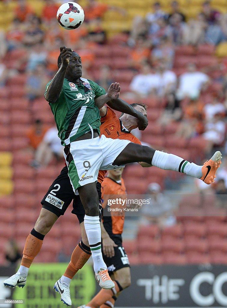 A-League Rd 19 - Brisbane v Newcastle