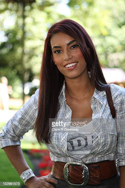 Emile Heskey's wife Chantelle Tagoe attends the afterparty for the UK premiere of 'Toy Story 3' at Whitehall Gardens on July 18 2010 in London England