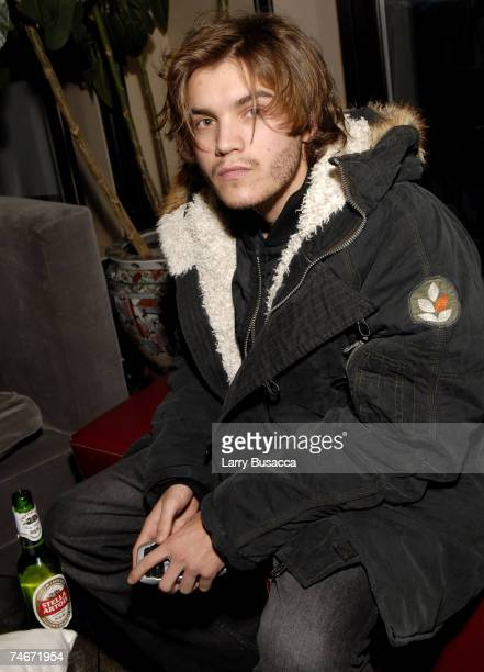 Emile Hirsch at the Hollywood Life House in Park City Utah