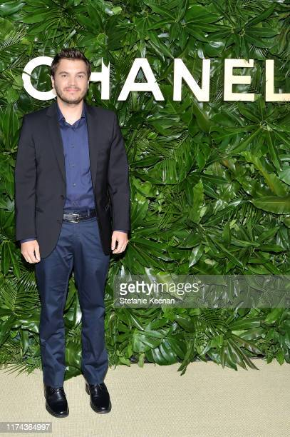 Emile Hirsch attends Chanel Dinner Celebrating Gabrielle Chanel Essence With Margot Robbie on September 12 2019 in Los Angeles California