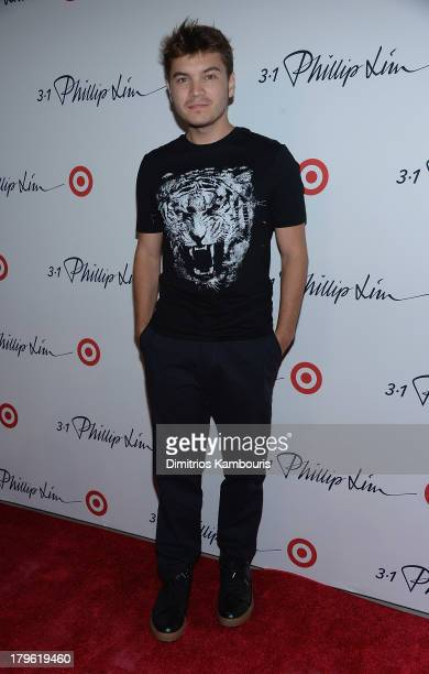 Emile Hirsch attends the 3.1 Phillip Lim for Target Launch Event at Spring Studio on September 5, 2013 in New York City.