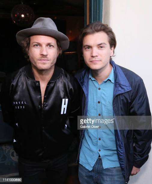 Emile Hirsch attends the Dinner Party to Celebrate Pizza Girl by Caroline D'Amore hosted by Paris Jackson at the Private Residence of the CEO of...