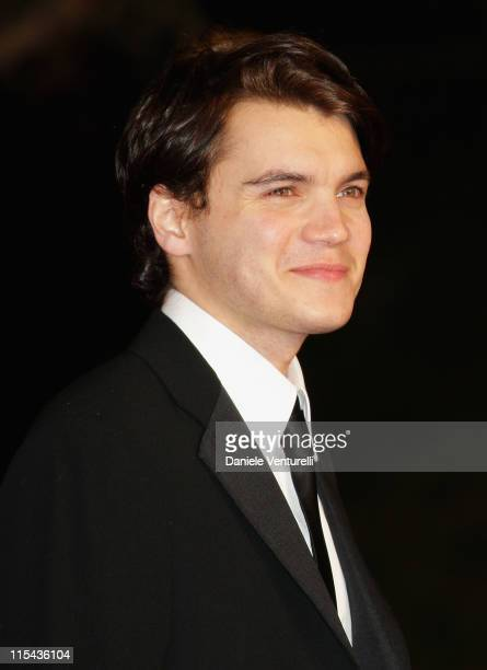 Emile Hirsch attends the 'Into The Wild' premiere during Day 7 of the 2nd Rome Film Festival on October 24 2007 in Rome Italy