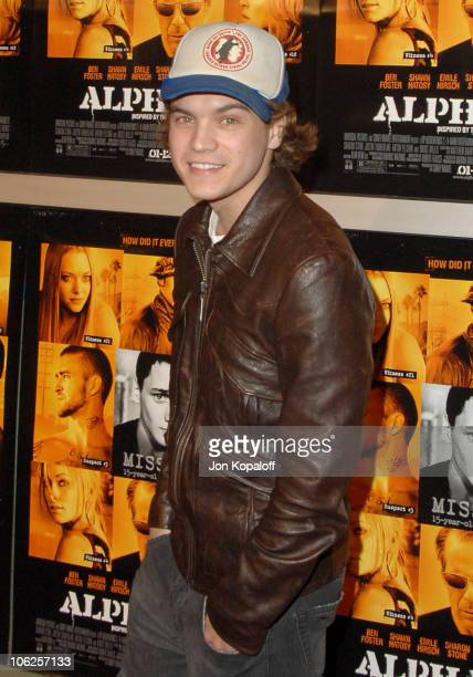 Emile Hirsch during Alpha Dog Los Angeles Premiere Arrivals at ArcLight Cinemas in Hollywood California United States