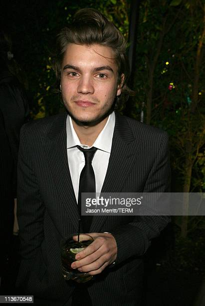 Emile Hirsch during Lexus Hosts 12th Annual Critics' Choice Awards After Party at Viceroy Hotel in Santa Monica California United States