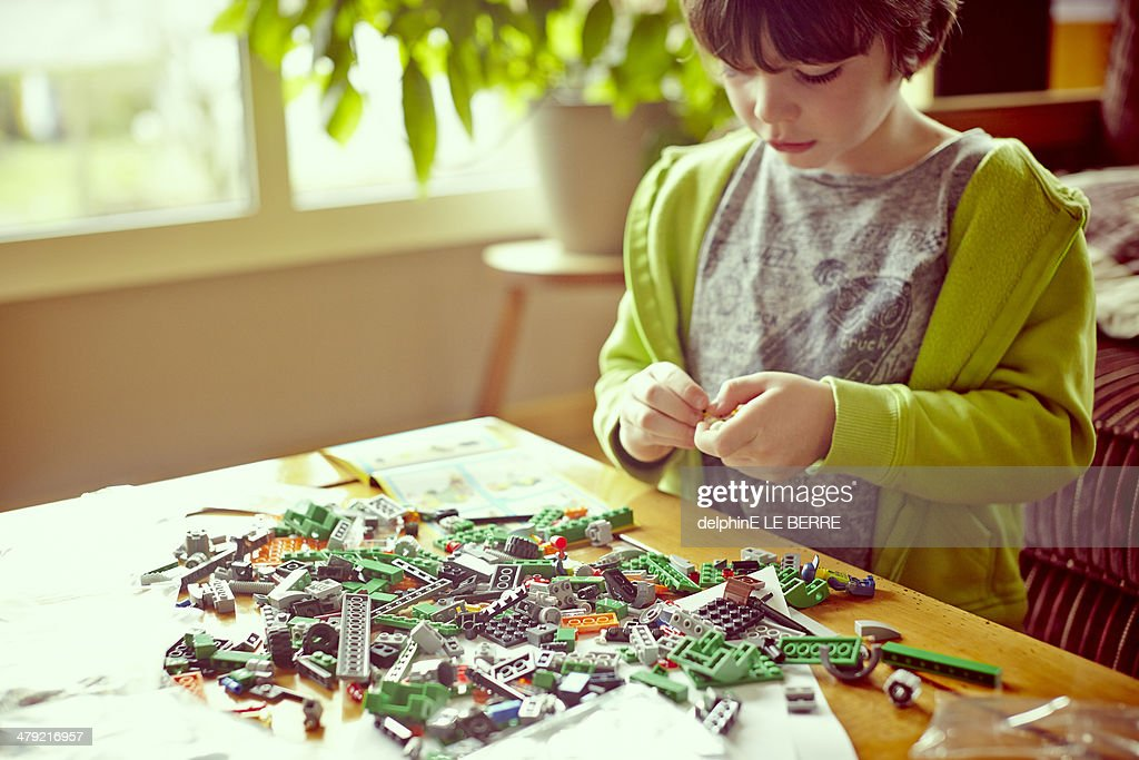 Emile Master Builder : Stock Photo