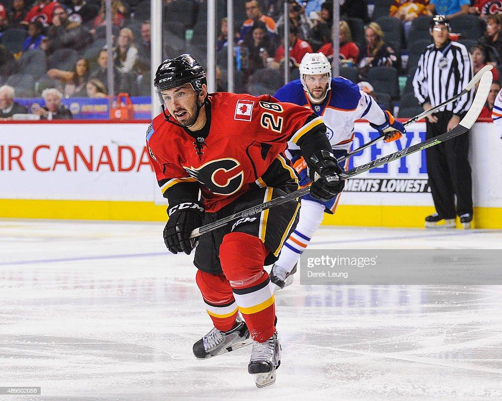 Calgary Flames v Edmonton Oilers : News Photo