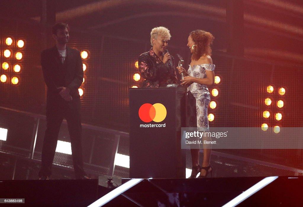 The BRIT Awards 2017 - Show : Nachrichtenfoto