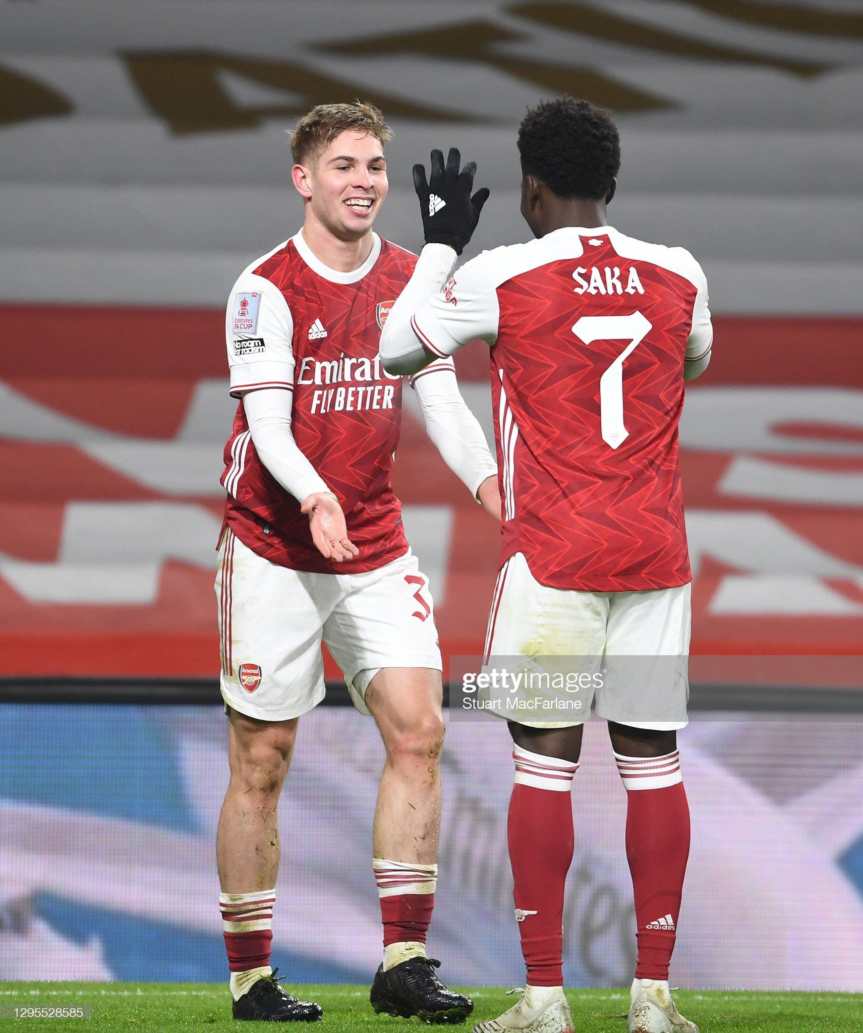 Arsenal v Newcastle United - FA Cup Third Round : News Photo