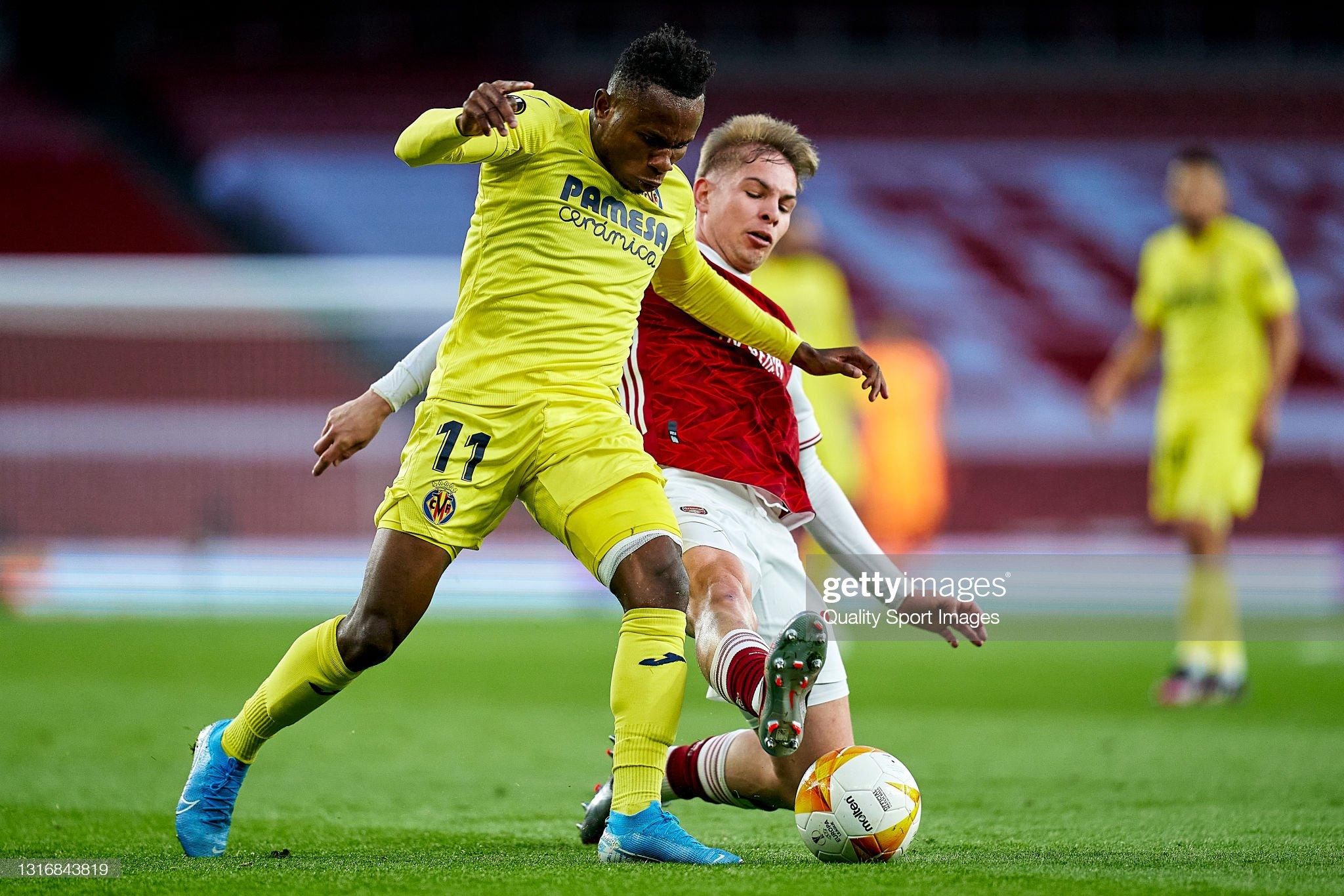 Arsenal v Villareal CF - UEFA Europa League Semi Final: Leg Two : News Photo