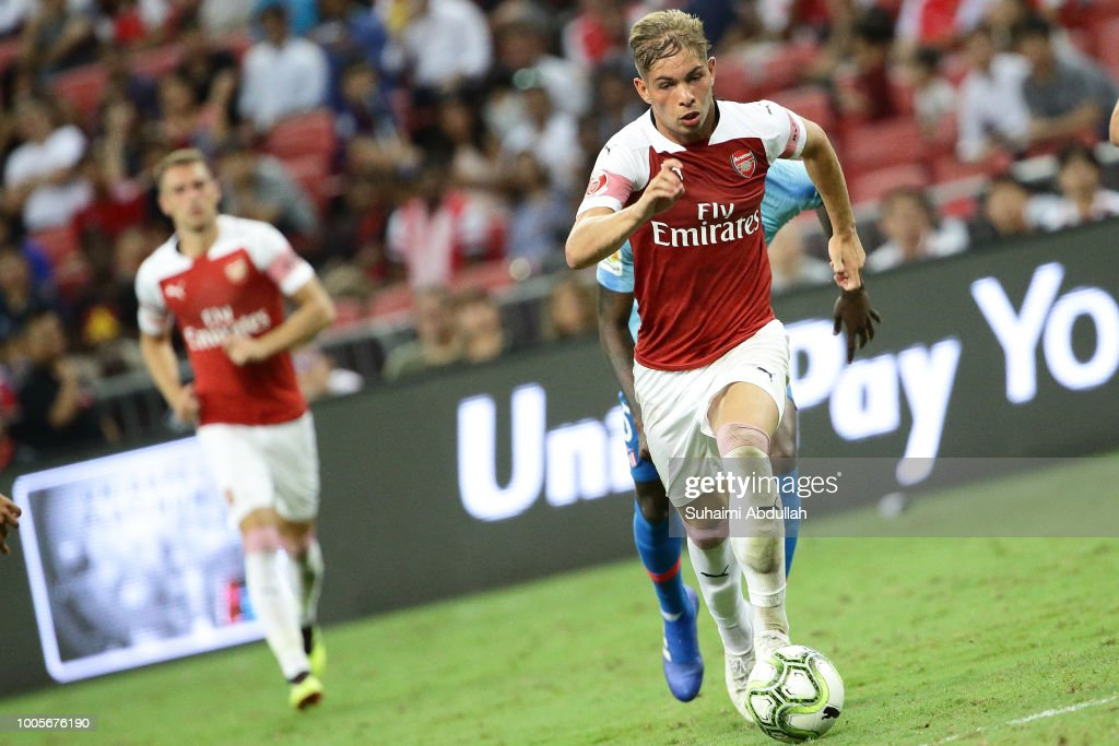 Club Atletico de Madrid v Arsenal - International Champions Cup 2018 : ニュース写真