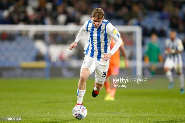 Emile Smith Rowe of Huddersfield Town during the Sky Bet Championship match between Huddersfield Town and Cardiff City at John Smith's Stadium on...