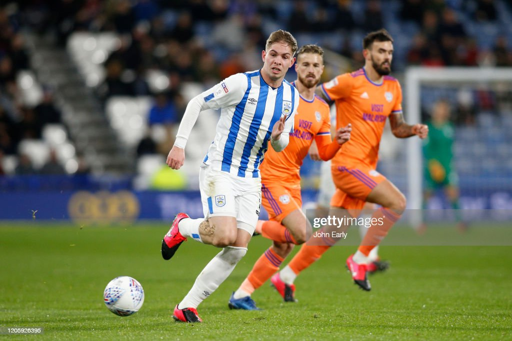 Huddersfield Town v Cardiff City - Sky Bet Championship : News Photo