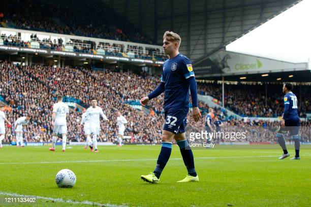 Emile Smith Rowe of Huddersfield Town during the Sky Bet Championship match between Leeds United and Huddersfield Town at Elland Road on March 07...