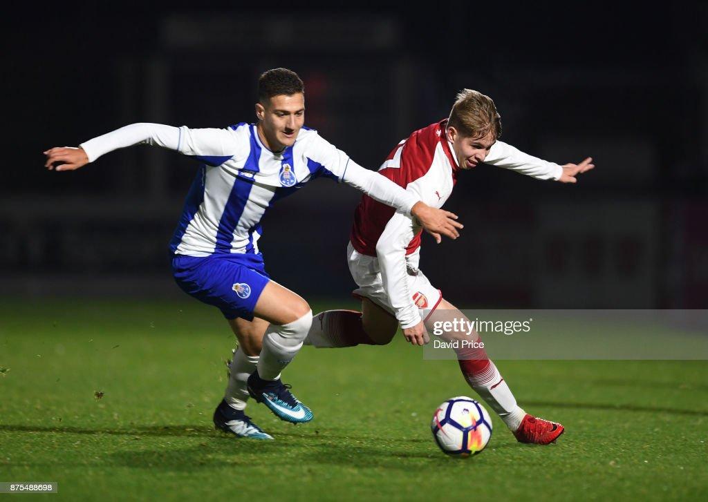 Arsenal U23 v Porto U23: Premier League International Cup