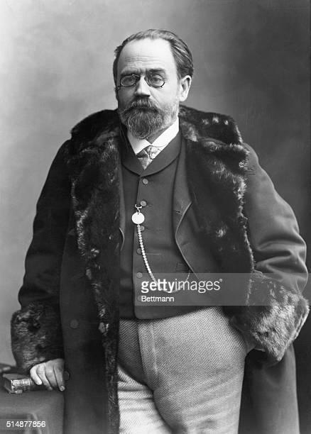 Emile Zola French novelist Photo by Nadar