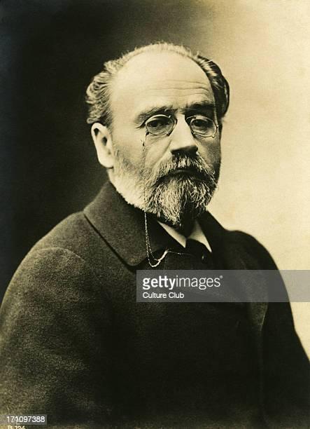 Emile Zola portrait French writer and novelist 2 April 1840 29 September 1902