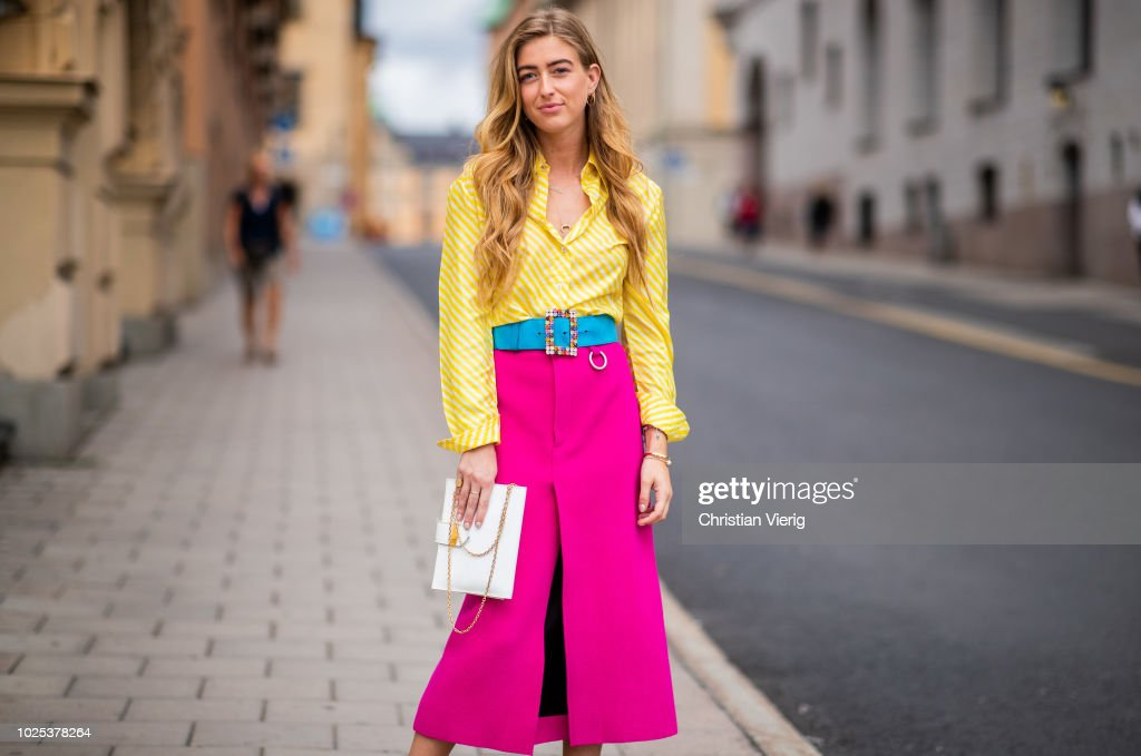 Day 3 - Street Style - Stockholm Runway SS19 : News Photo