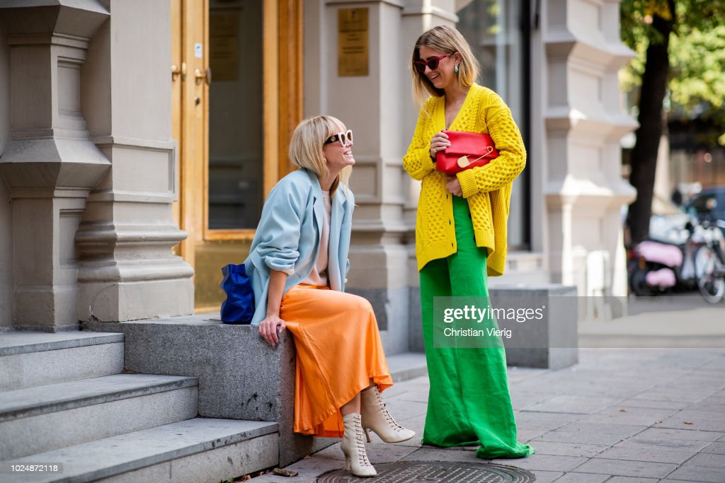 Day 1 - Street Style - Stockholm Runway SS19 : News Photo