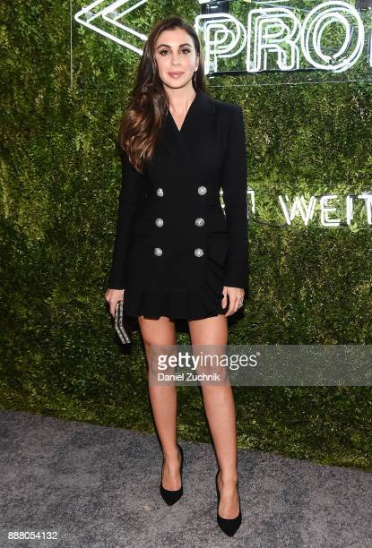 Emilia Bechrakis attends the 2017 Pencils of Promise Gala at Central Park on December 7 2017 in New York City