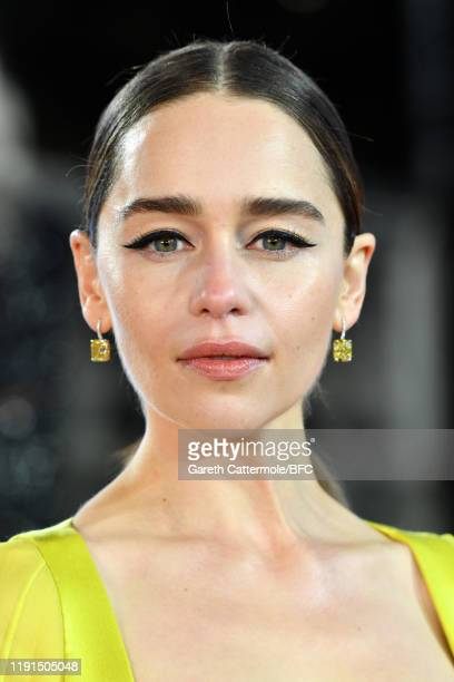 Emilia Clarke arrives at The Fashion Awards 2019 held at Royal Albert Hall on December 02, 2019 in London, England.