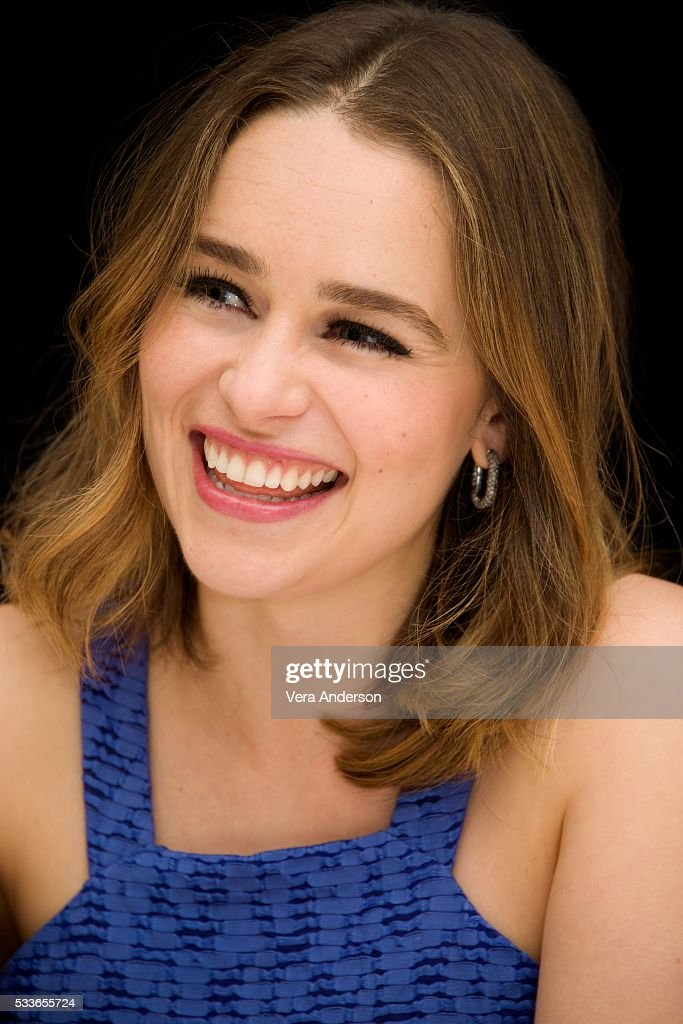 """""""Me Before You"""" Press Conference : News Photo"""