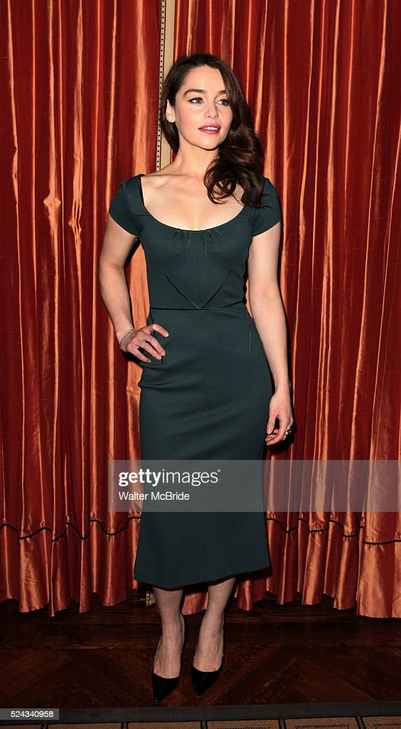 Usa breakfast at tiffanys meet greet pictures getty images emilia clarke attending the meet greet the company of breakfast at tiffanys at m4hsunfo